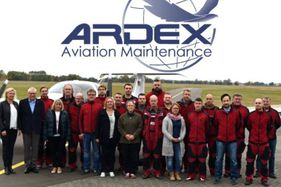 Mitarbeiter ARDEX Aviation Maintenance GmbH